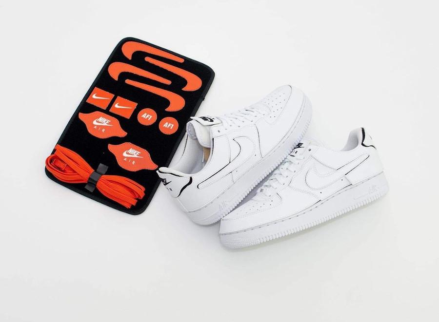 Nike Air Force 1 1 Velcro White Cosmic Clay CZ5093-100