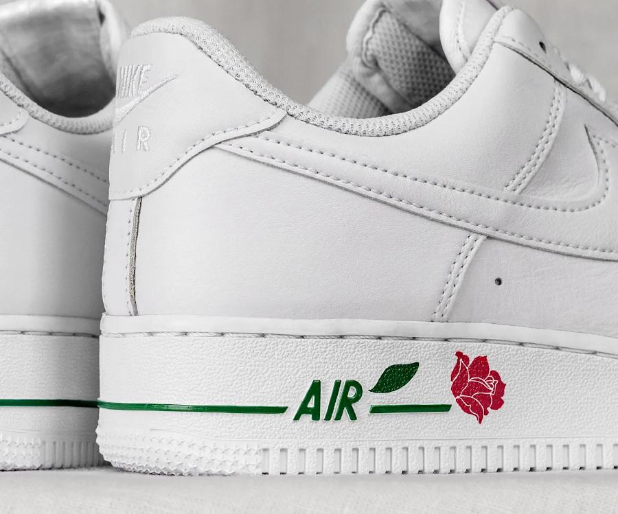 Nike Air Force One blanche 2021 Bodega (2)