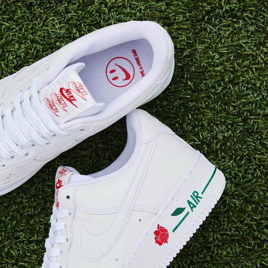 Nike Air Force One blanche 2021 Bodega (3)