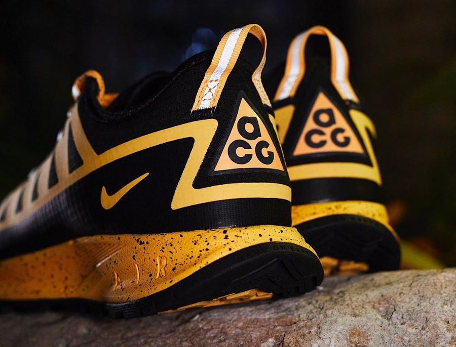 Nike Air Nasu imperméable jaune et noire (1)