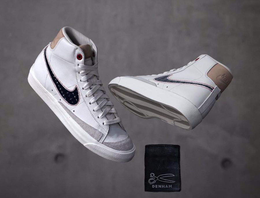 Nike Blazer Mid 77 PRM Denham Sail Denim CU8054-100