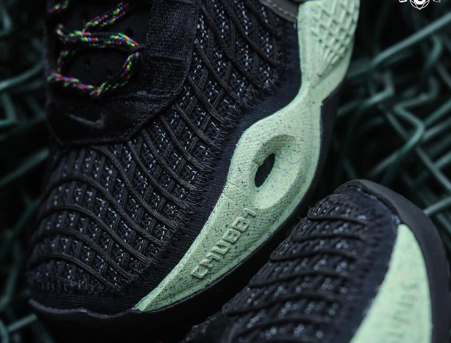 Nike Cosmic Unity noire et verte (6)