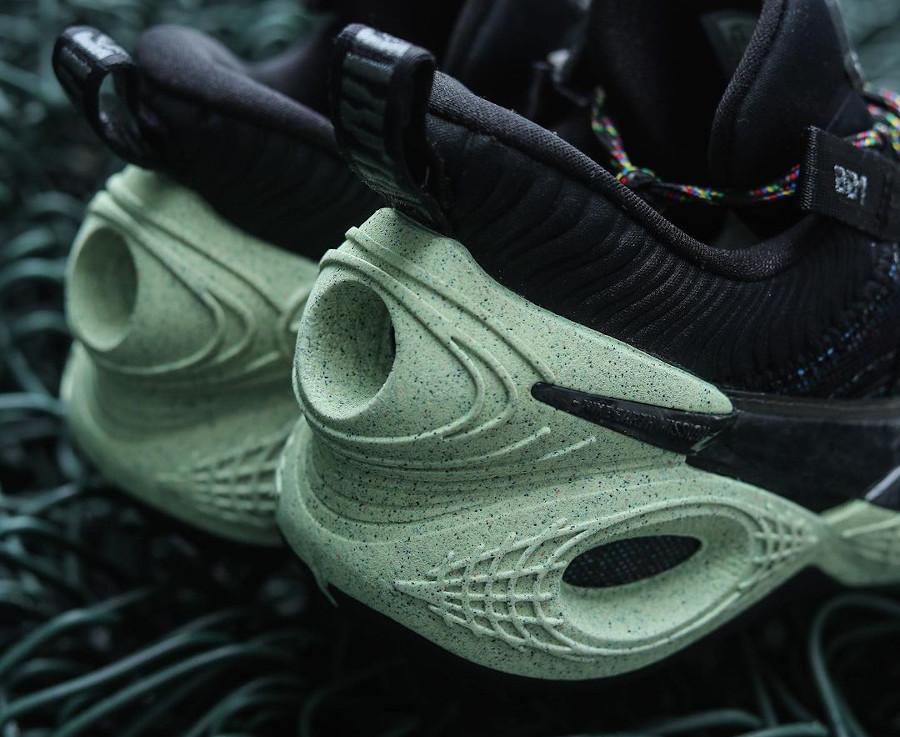 Nike Cosmic Unity noire et verte (7)