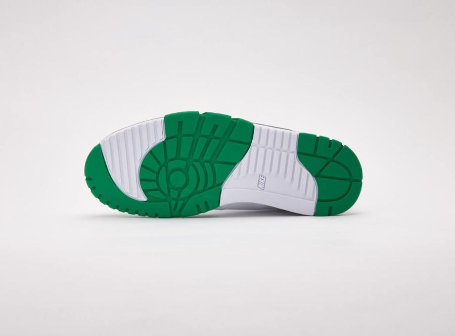 Nike Cross Trainer Lo blanche verte et grise (2)
