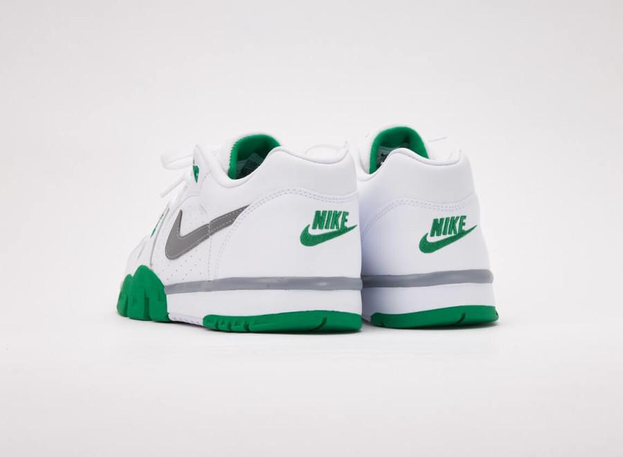 Nike Cross Trainer Lo blanche verte et grise (5)