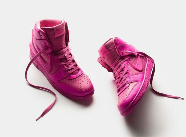 [Image: Nike-Dunk-Hi-Ambush-toute-rose-3-600x442.jpg]