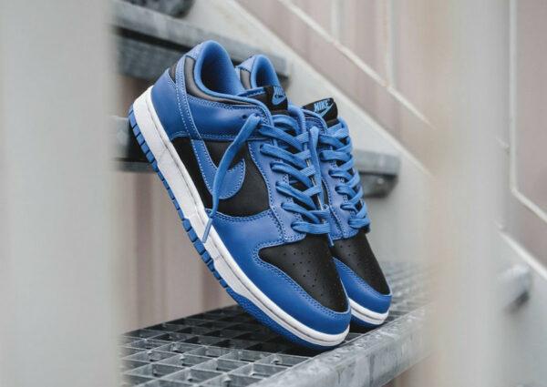 Nike Dunk Low 2021 Hyper Cobalt Black DD1391-001