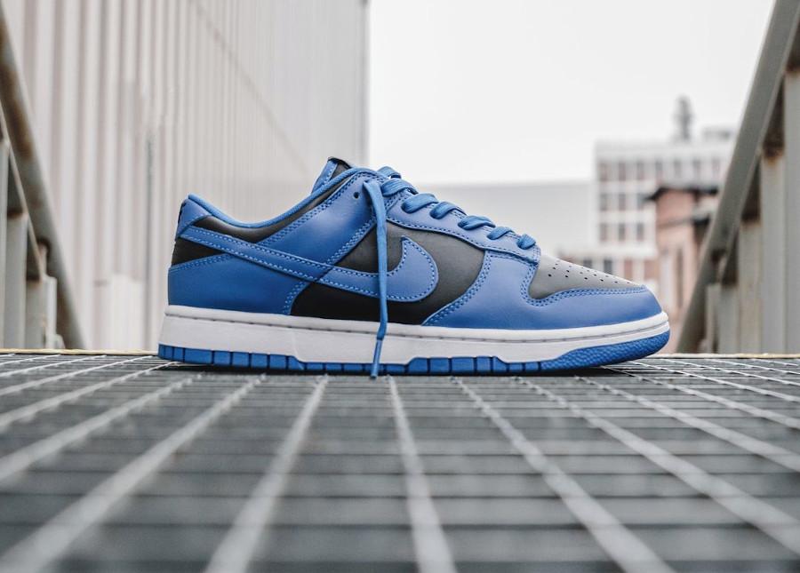 Nike Dunk Low homme noir et bleu (1)