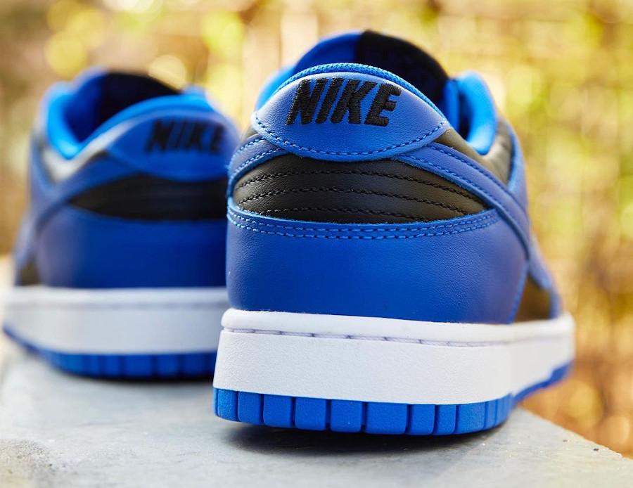 Nike Dunk Low homme noir et bleu (2)
