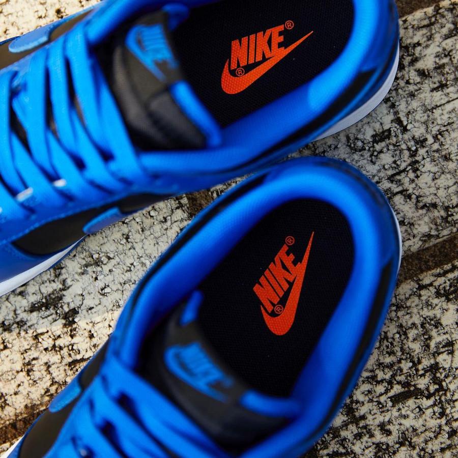 Nike Dunk Low homme noir et bleu (3)
