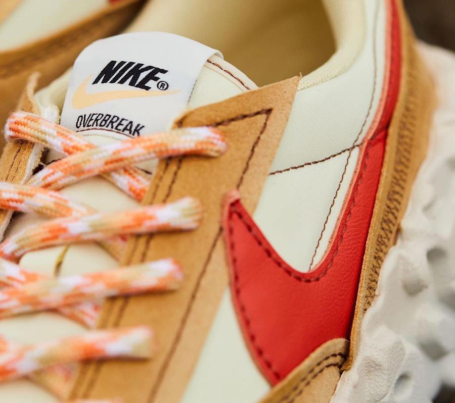 Nike Over Break marron beige et rouge (4)