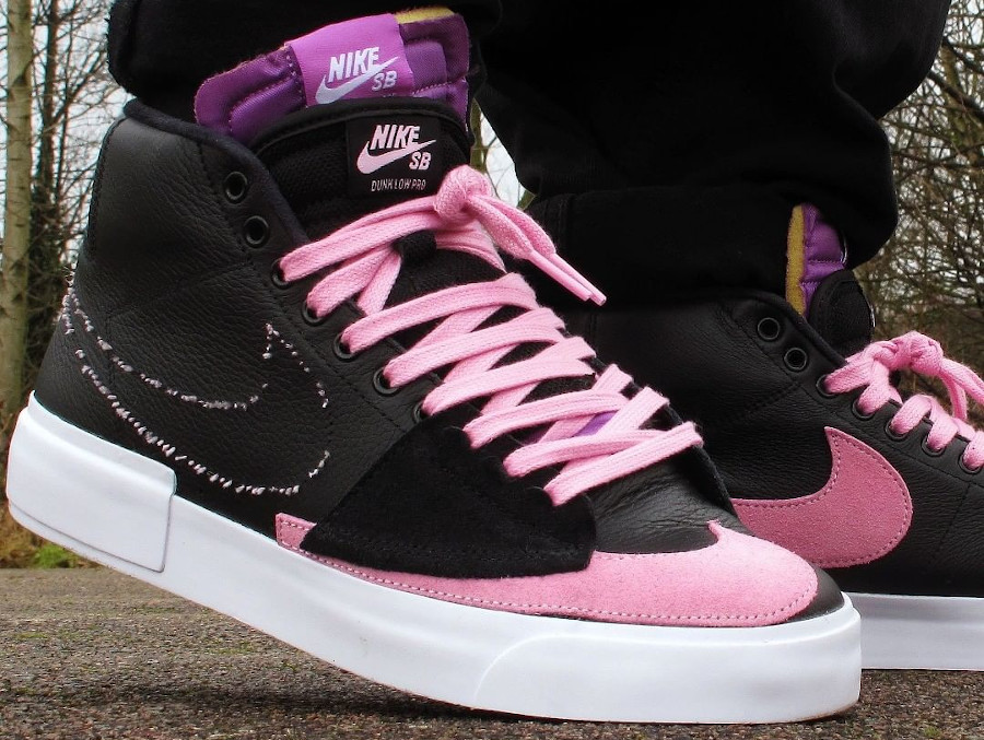 Nike SB Blazer Mid Edge Black Pink Nebula Purple Hack Pack DA2189-002