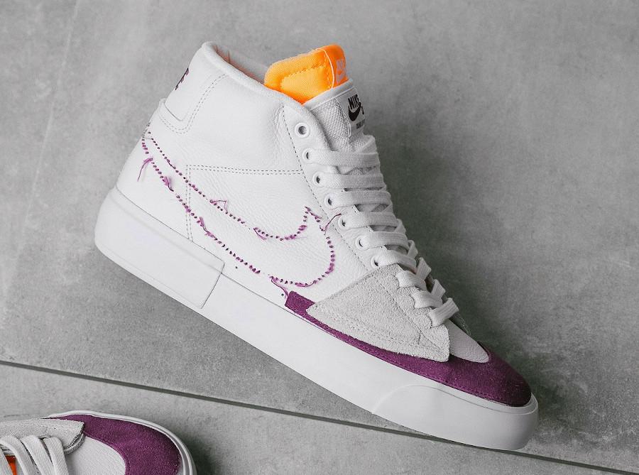 Nike SB Blazer Mid Edge Hack Pack Viotech Lakers DA2189-100