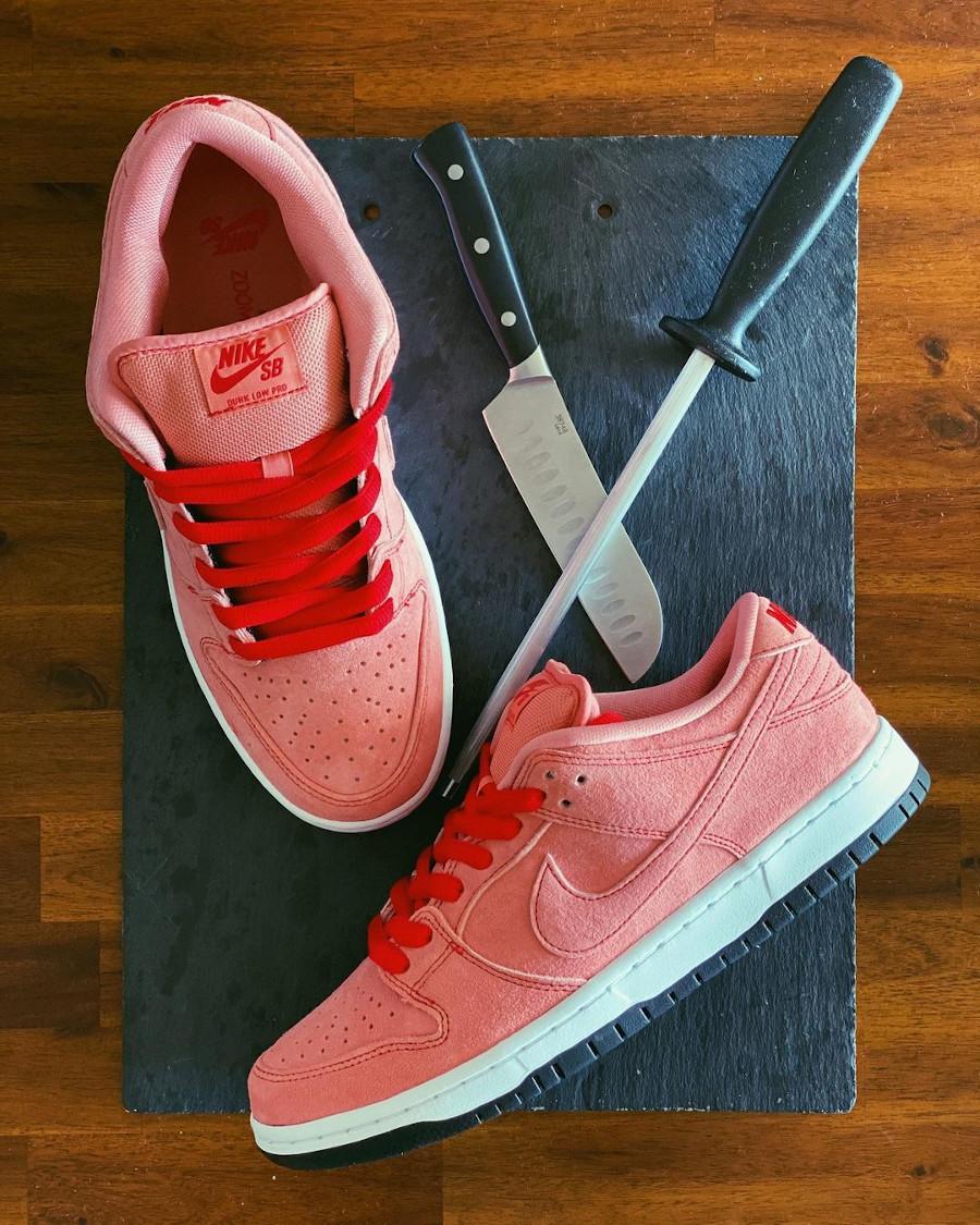 Nike SB Dunk Low cochon rose (1)