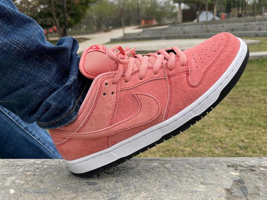 Nike SB Dunk Low cochon rose (4)