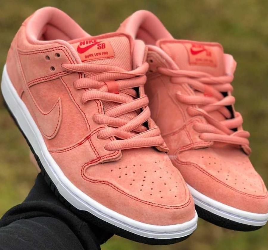 Nike SB Dunk Low cochon rose (5)