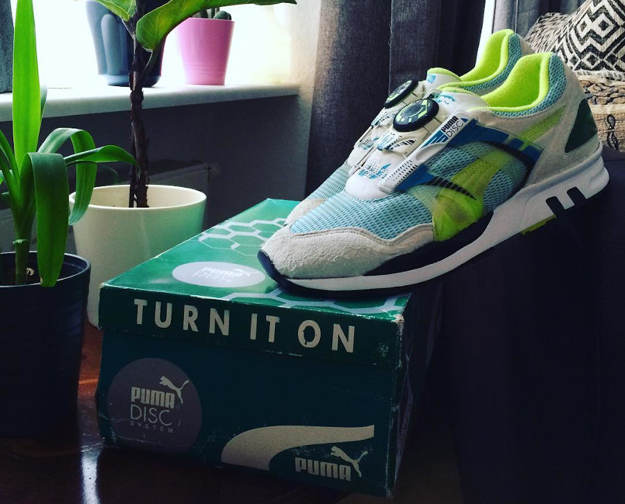 Puma Disc XS 7000 vintage 1991 (made in Germany)