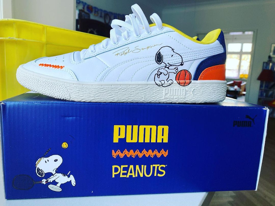 Puma Ralph Sampson basse chien de Charilie Brown (1)