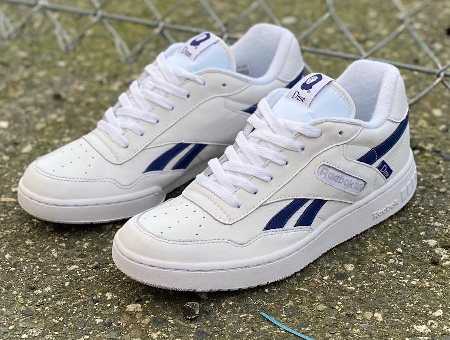 Reebok BB4000 2021 blanche et bleue (3)