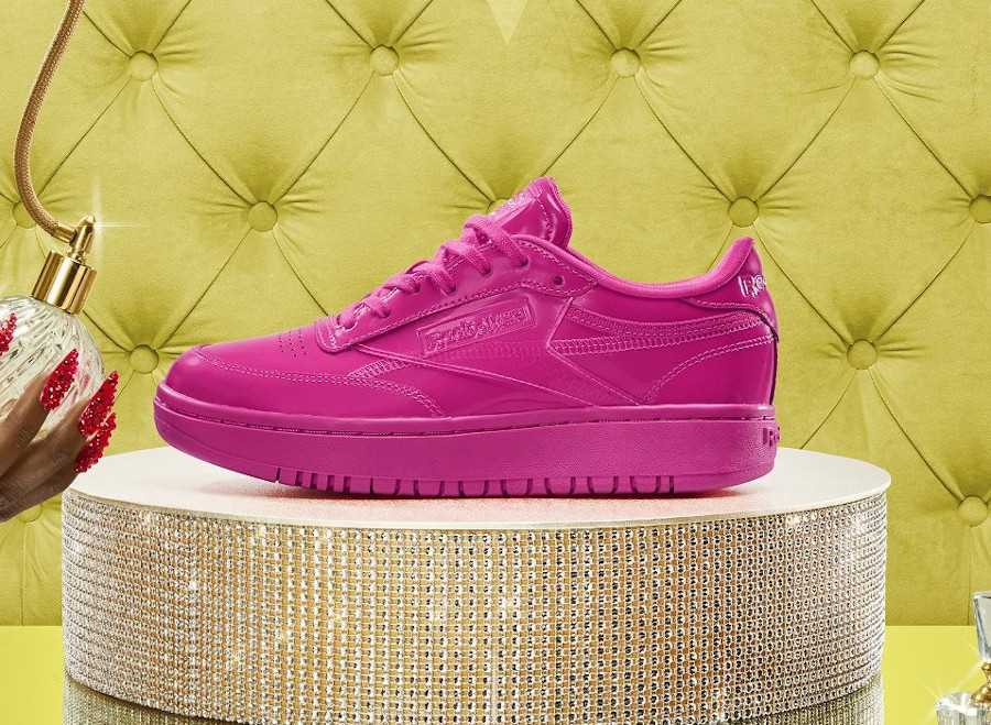 Reebok Coated Double C rose fluo H02566