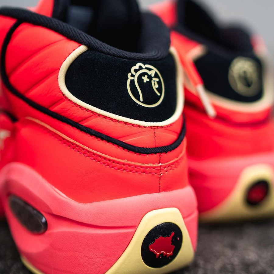 Reebok Question Mid rouge piment (1)