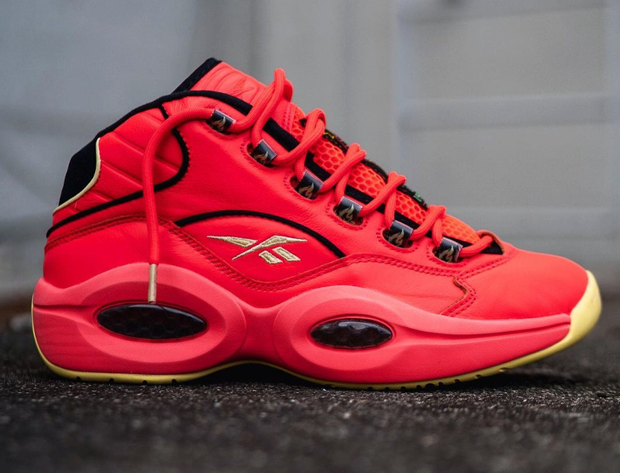 Reebok Question Mid rouge piment (4)