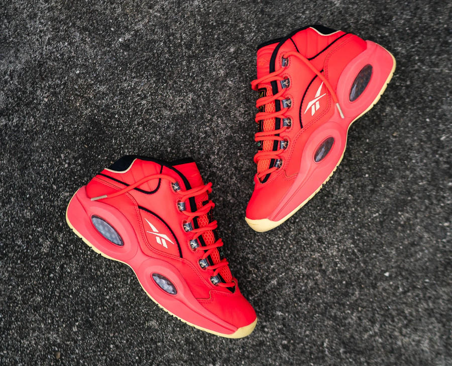 Reebok Question Mid rouge piment (6)