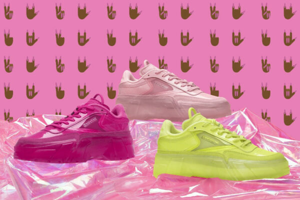 Reebok x Cardi B Club C Coated Double Neon Pack 2021