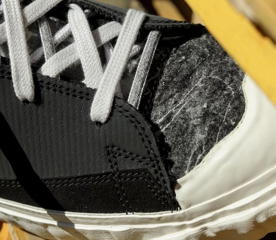 Yuta Hosokawa x Nike Blazer Mid noire blanche mandarine et vert fluo (4)