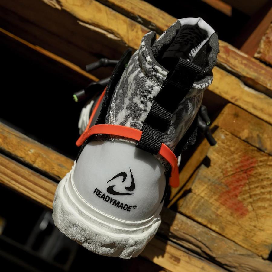 Yuta Hosokawa x Nike Blazer Mid noire blanche mandarine et vert fluo (5)