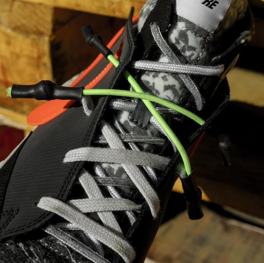 Yuta Hosokawa x Nike Blazer Mid noire blanche mandarine et vert fluo (8)