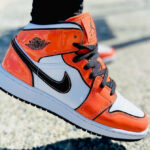 Air Jordan 1 Mid 'Turf Orange'