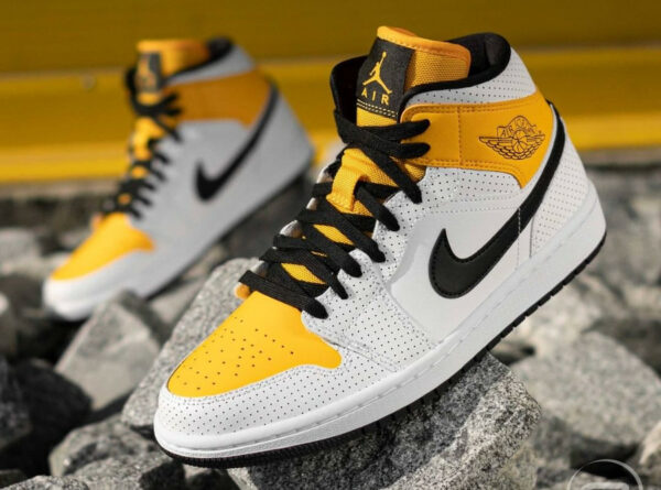 AJ1 Wmns Mid Perforated Laser Orange University Gold BQ6472-107