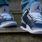 Air Jordan III Retro 'Georgetown' Midnight Navy
