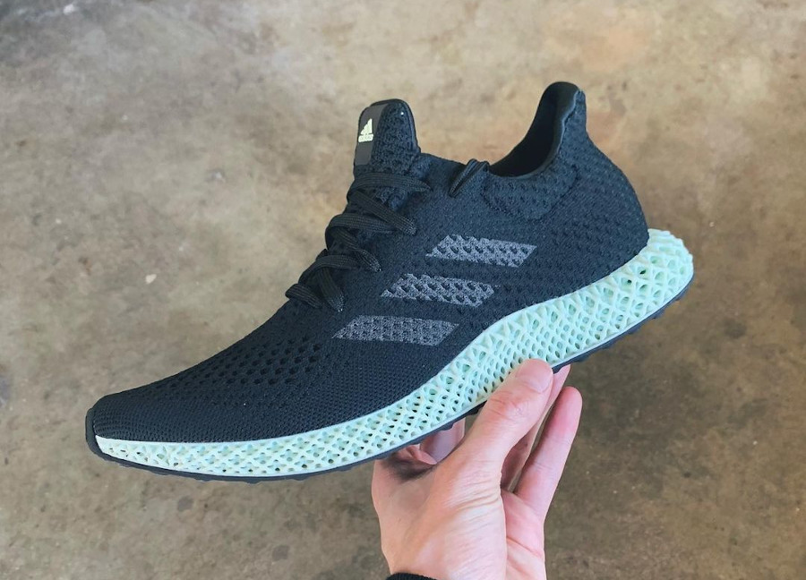 Adidas 4D Primeknit noire et verte (3)