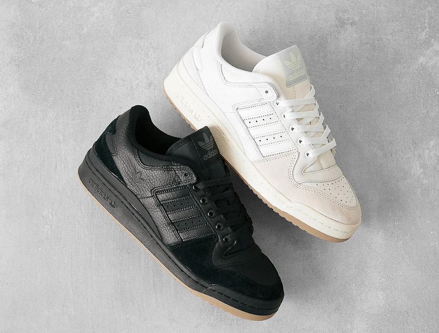 Adidas Forum 84 Low ADV Chalk White Core Black