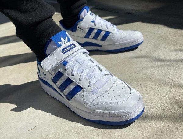 Adidas Forum 84 Low Royal Blue Cloud White 2021 FY7756