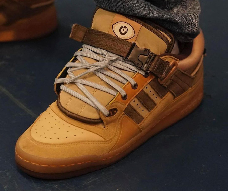 Adidas Forum marron Yo Visto Así on feet (1)
