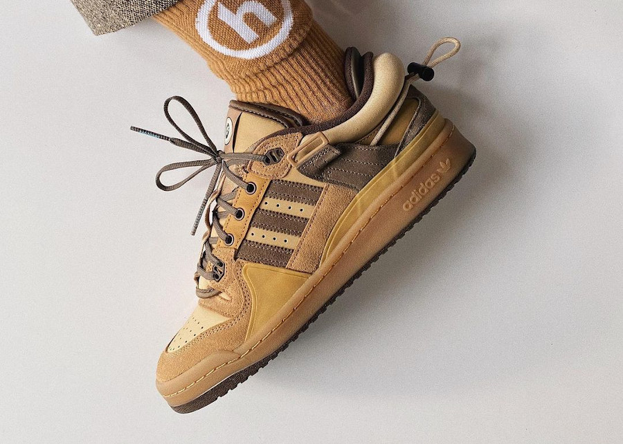 Adidas Forum marron Yo Visto Así on feet