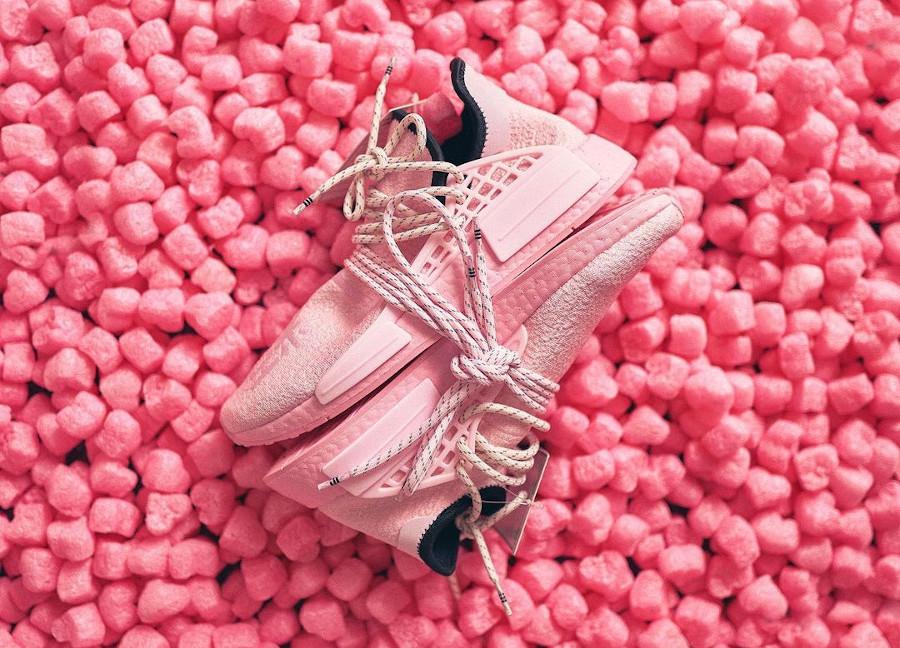 Adidas NMD HU 2021 rose bonbon (3)