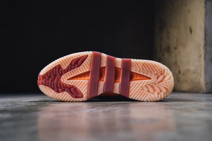 Adidas Niteball Yeezy bordeaux et cuivre (2)