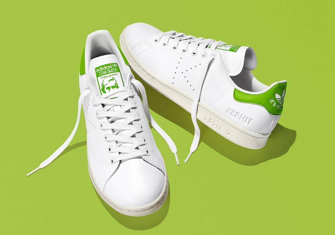Adidas Stan Smith recyclée blanche et verte FY5460 (1)