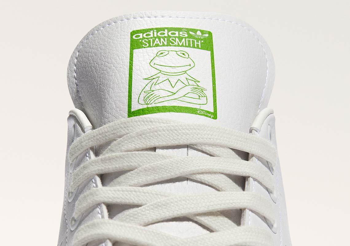 Adidas Stan Smith recyclée blanche et verte FY5460 (2)