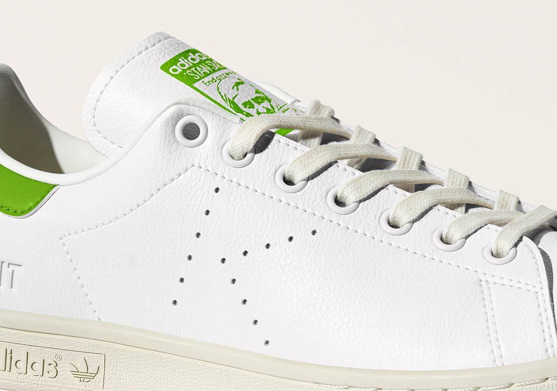 Adidas Stan Smith recyclée blanche et verte FY5460 (3)