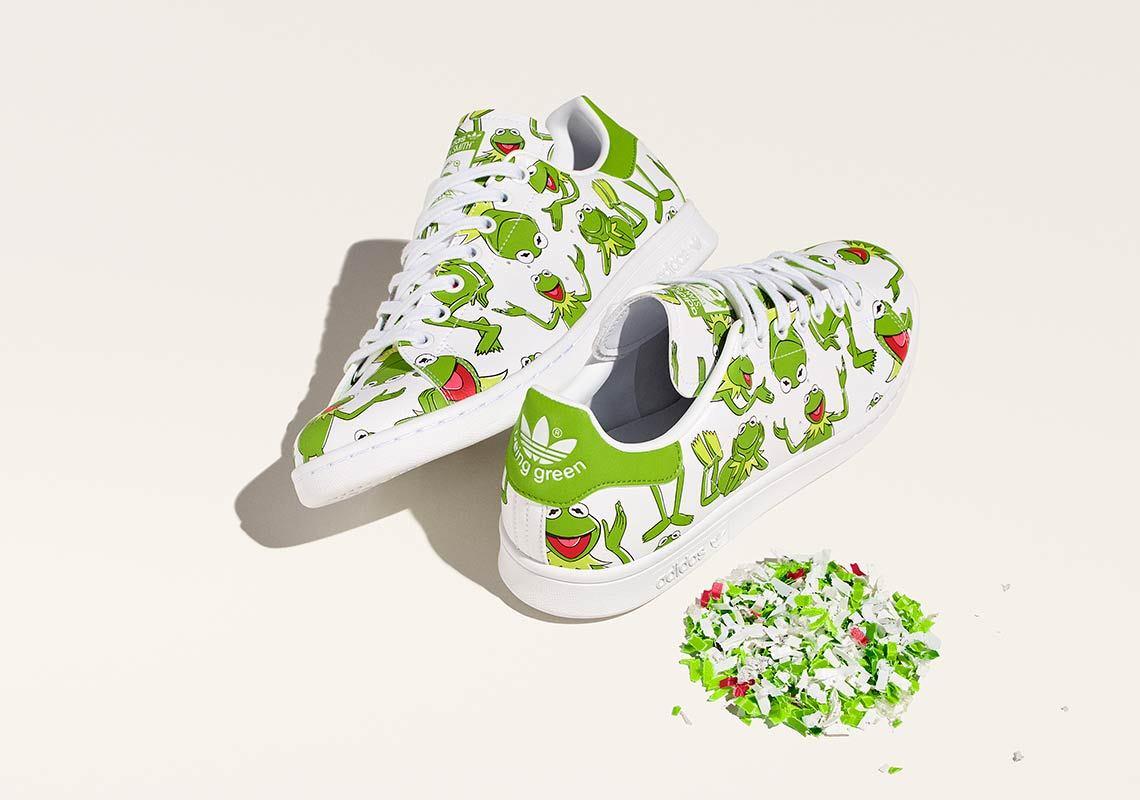 Adidas Stan Smith recyclée blanche et verte FZ2707 (1)