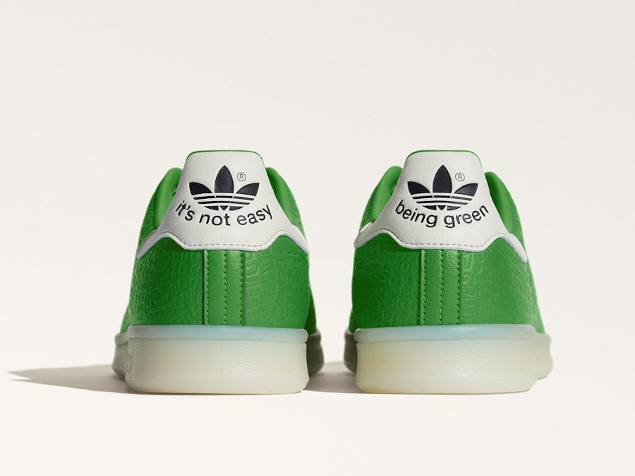 Adidas Stan Smith recyclée imprimé dinosaure (1)