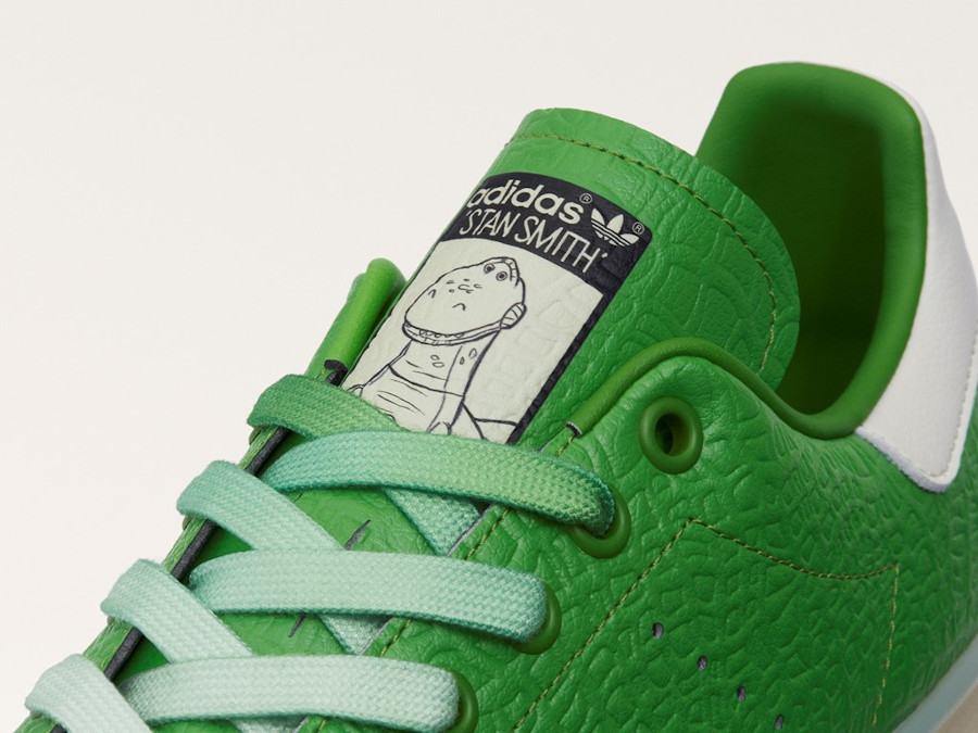 Adidas Stan Smith recyclée imprimé dinosaure (3)