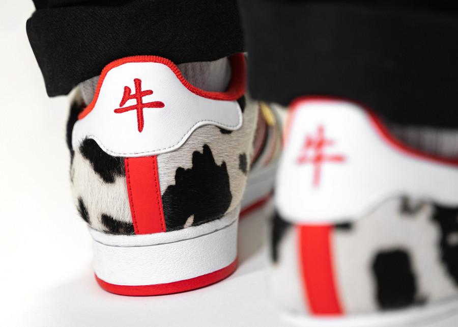 Adidas Superstar en crin de poney nouvel an chinois (2)