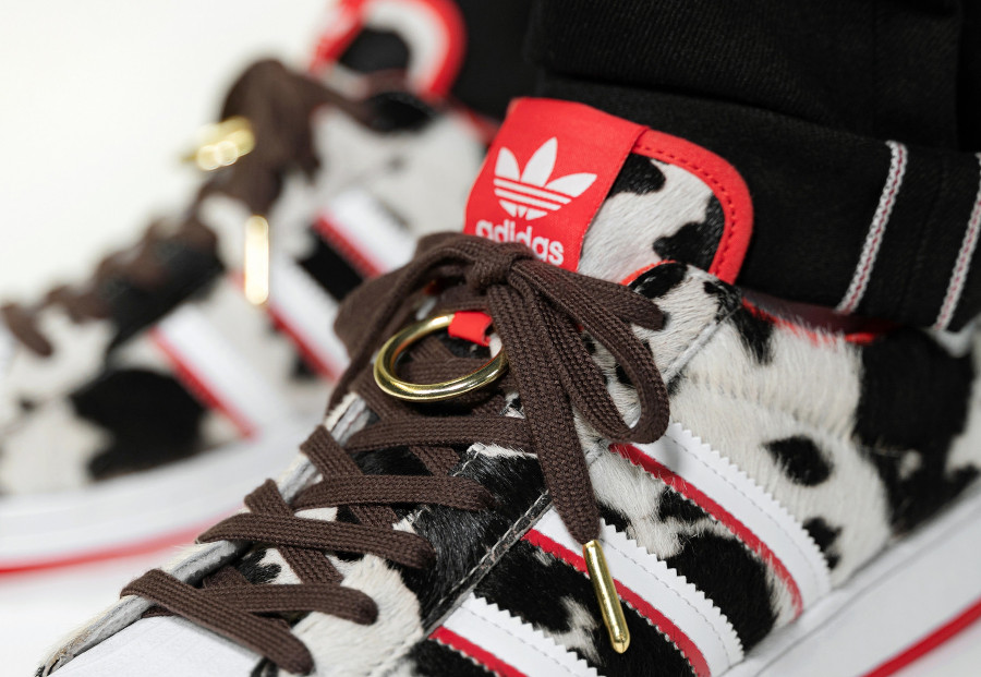 Adidas Superstar en crin de poney nouvel an chinois (3)