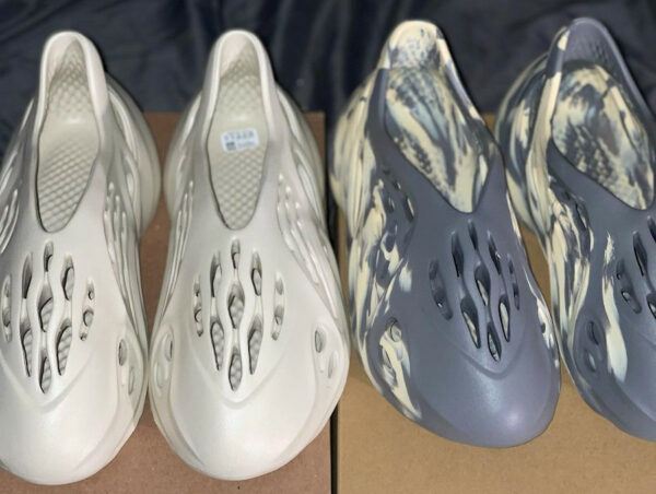Adidas YZY Crocs Foam RNNR Sand & MXT Moon Gray
